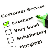 Customer service satisfaction form