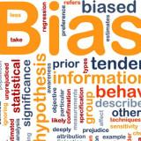 Word cloud for bias