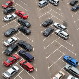 portion of a surface parking lot