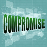 """graphic with the word """"Compromise"""""""
