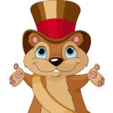 Groundhog mayor cartoon