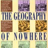 portion of book cover for The Geography of Nowhere