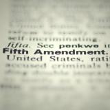"""the words """"Fifth Amendment"""""""