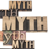 """graphic of the word """"myth"""""""