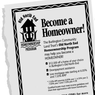 Newspaper ad: Become a Homewoner!