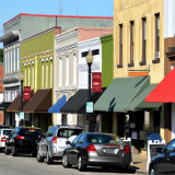 typical downtown main street retail