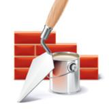 bricks construction icon