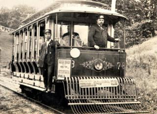 photo of trolley car
