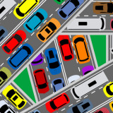 traffic congestion congestion and gridlock illustration