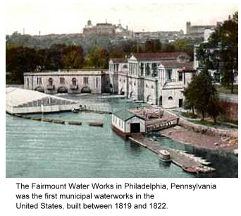 Fairmount Water Works in Philadelphia