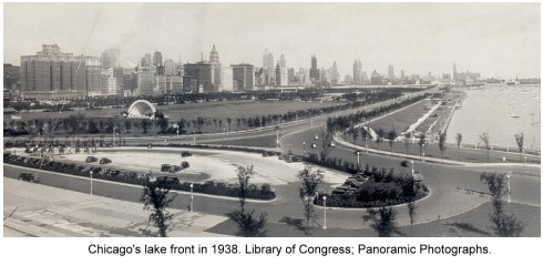 photo of Chicago lakefront