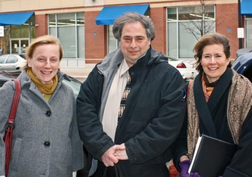 Terri Schwartz, Bob Brown, and Bobbi Reichtell