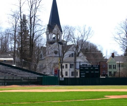 Doubleday Field in Cooperstown, New York