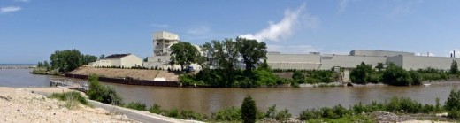 Along Burns Waterway in Portage, Indiana