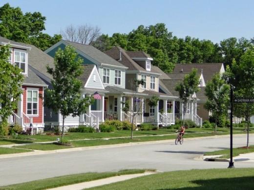 Housing in Village in Burns Harbor