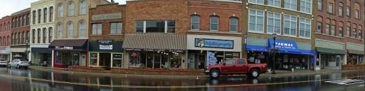 Main Street in Niles, Michigan