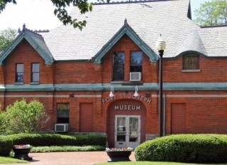 Fort St. Joseph Museum in downtown Niles