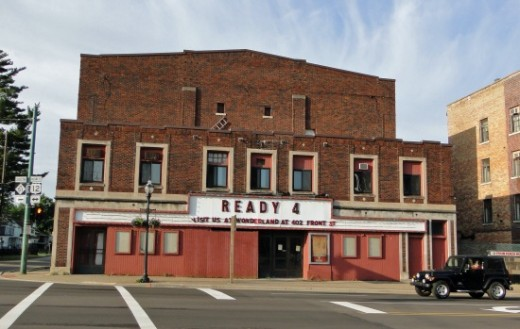 Old movie theater in NIles