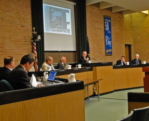 Meeting of the Troy Planning Commission