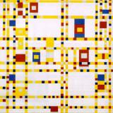 Mondrian art work