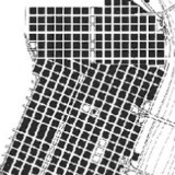 portion of a street grid