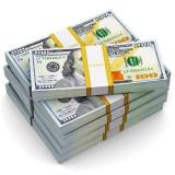 illustration of stack of $100 bills