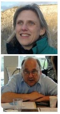photos of Gary Toth and Hannah Twaddell