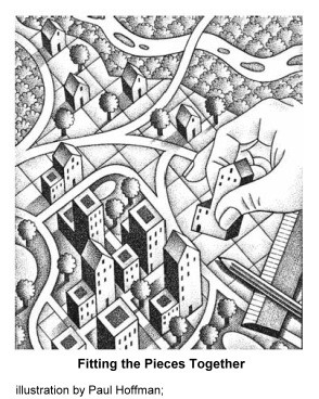 illustration by Paul Hoffman for the Planning Commissioners Journal