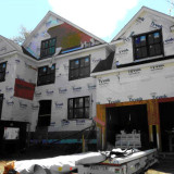 photo of McMansion under construction
