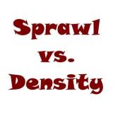 the word: Sprawl vs. Density
