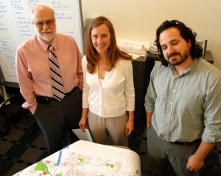 Doug Wieland, and planners Christina Kelly and Jeff Burdick.