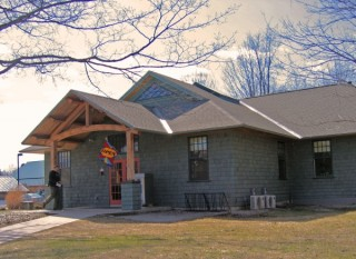 The Putney, Vermont library