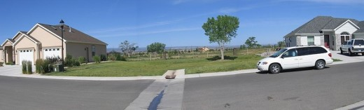 Lack of street connection between two subdivisions in Montrose, Colorado