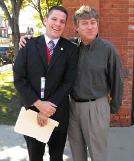 Jonathan Mullen and David Corrigan