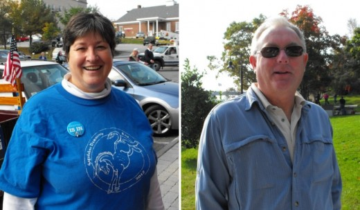 Gretta Wark and Craig Phillips