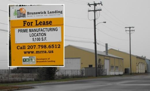 Brunswick Landing building for lease