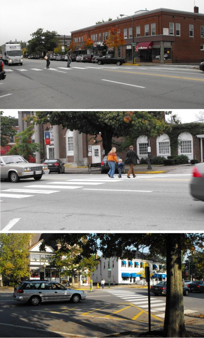 Crossing Maine Street