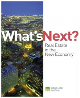 cover of ULI report: Whats Next in Real Estate Cover