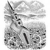 Church illustration by Paul Hoffman for PlannersWeb