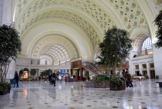 Interior of Washington's Union Station today
