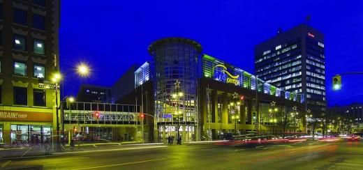 photo of MTS Centre in Winnipeg