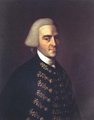 Portrait of John Hancock, 1770.