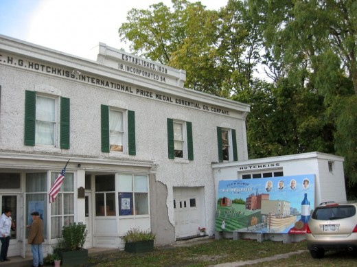 Hotchkiss Building in Lyons, New York, by Amy Facca