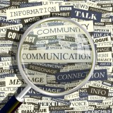 Communications Word Collage