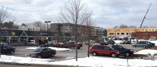 Ethan Allen Shopping Center in Burlington, Vermont