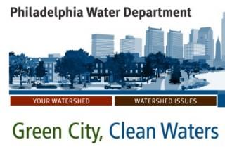 Logo for Philadelphia Green City, Clean Water Program