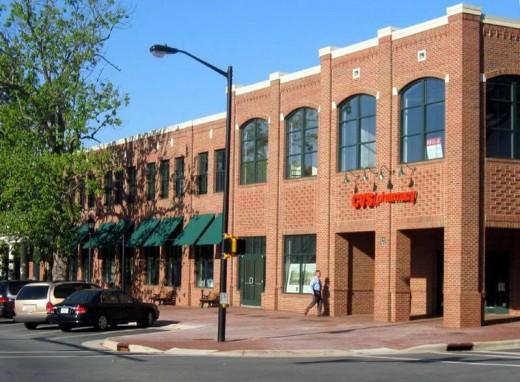 "Davidson, North Carolina, did not settle for CVS' ""Plan A"" design."