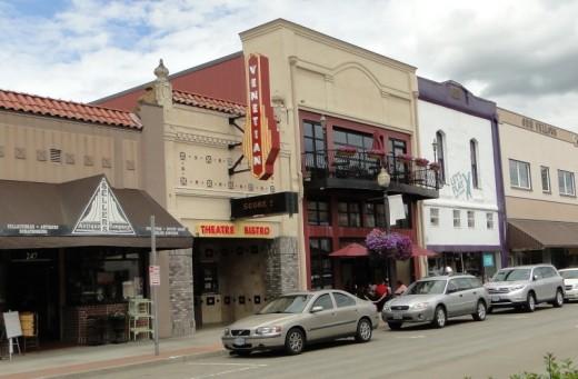 Venetian Theater in downtown Hillsboro.