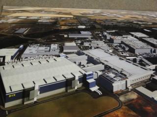 Rendering of Intel D1X plant.