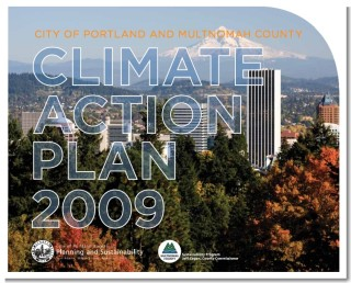 Portland Climate Action Plan 2009 cover